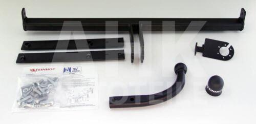 Für Ford Fiesta VI 3//5-Tür Fließheck Anhängerkupplung starr+ESatz 13pol ABE