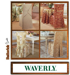 Astounding Details About Sew Make Butterick B4480 Waverly Sewing Pattern Dining Room Chair Covers Alphanode Cool Chair Designs And Ideas Alphanodeonline