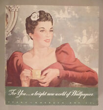 Sears Wallpaper CATALOG - 1939 ~~ wall paper