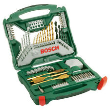 Bosch Hazlo tú mismo 70 piezas X Taladro & Destornillador de titanio de línea 2607019329 3165140379526'