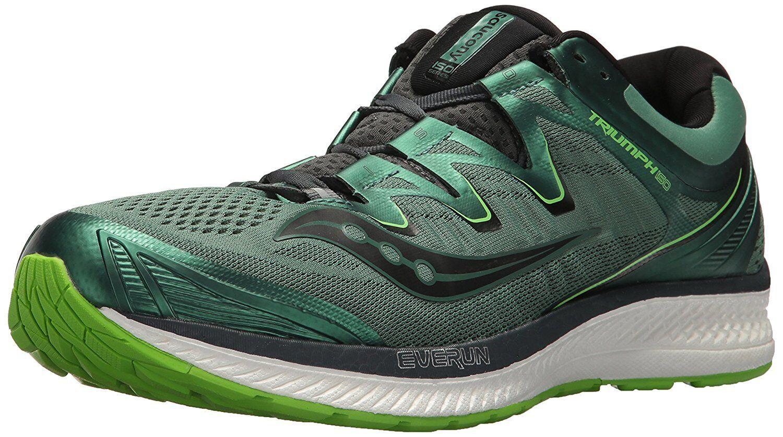 Saucony Triumph ISO 4 S20413 3 Negro verde Para hombres Zapatos para correr
