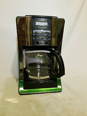 Mr. Coffee 12 Cup Programmable Automatic Drip Coffee Pot Maker Brewer 72179235460 | eBay