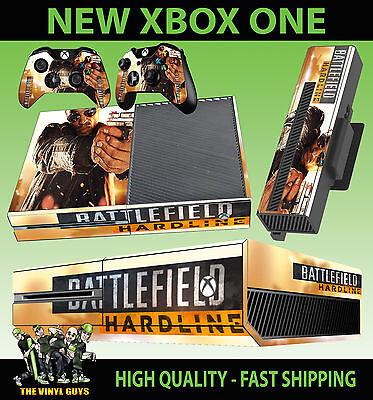 Xbox One Aufkleber Schlachtfeld Hardline 02 Pistole Stil Hülle & 2 Polster Hülle Be Shrewd In Money Matters Video Game Accessories
