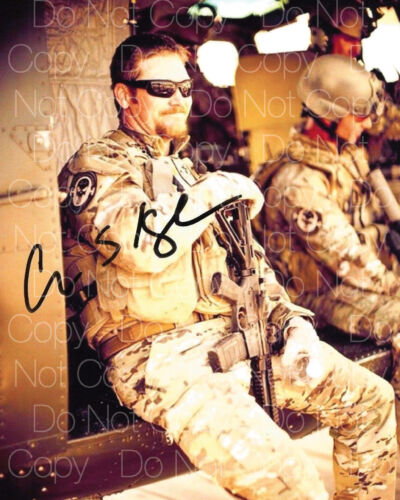 Chris Kyle signed American Sniper 8X10 photo picture poster autograph poster RP