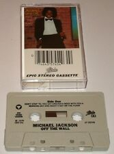 MICHAEL JACKSON OFF THE WALL ORIGINAL CASSETTE   1979