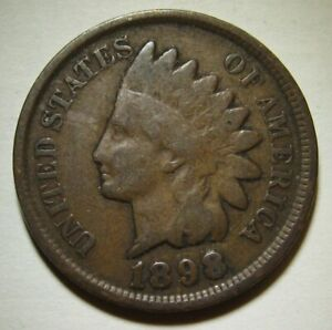1898-Indian-Head-Cent-in-Average-Circulated-Condition-DUTCH-AUCTION