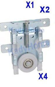 galet roulette réglable en hauteur porte de placard coulissant | ebay - Roulette Pour Porte Coulissante De Placard