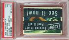 RARE 1954 TOPPS SCOOPS w/coating EDERLE SWIMS #72 PSA 7