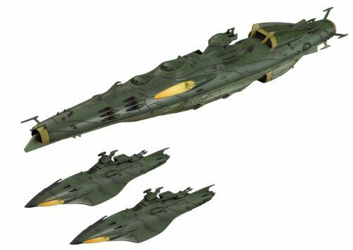 SPACE BATTLESHIP YAMATO 2199 1 1000 GARMILLAS SET 2 MODEL KIT