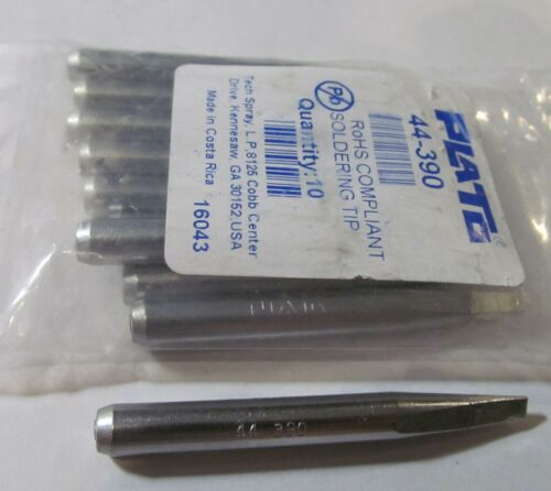 """NEW 10-PACK PLATO 44-390 1//4/"""" SCREWDRIVER SOLDERING TIPS ROHS"""