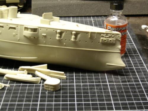 1//350 USS TEXAS 1898 Battleship Complete Resin /& PE Brass Model Kit