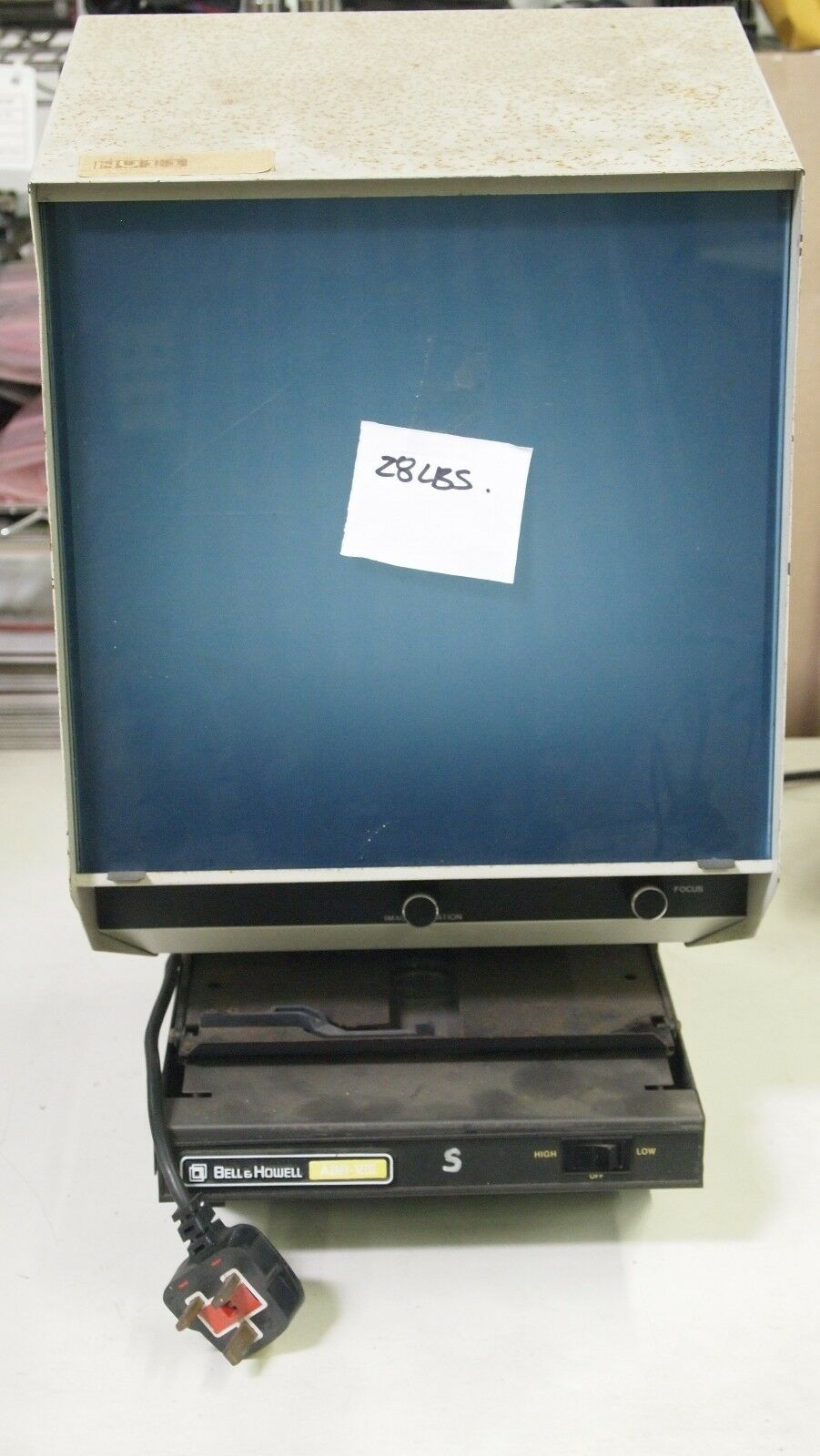 Bell and Howell Microfiche Microfilm Viewer ABR-VIII
