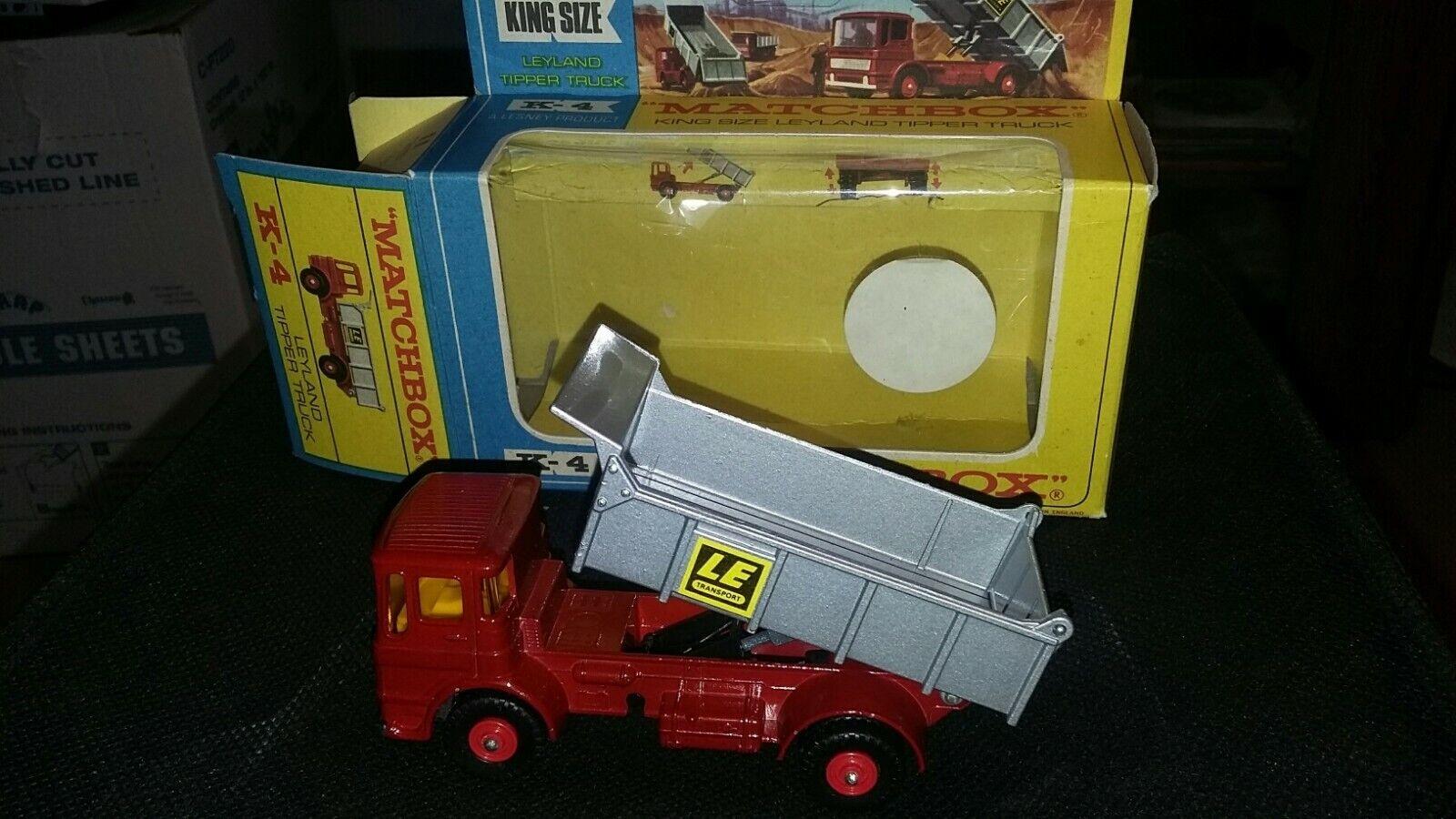 Matchbox Lesney, Leyland Tipper Truck, 1 43, MIB, LE Transport, Beautiful