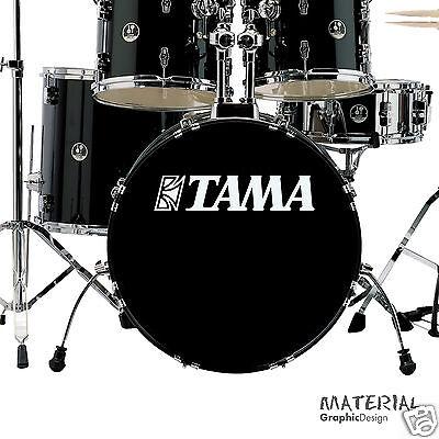 Alter Aufkleber Musik Instrumente Schlagzeug Drummer TAMA
