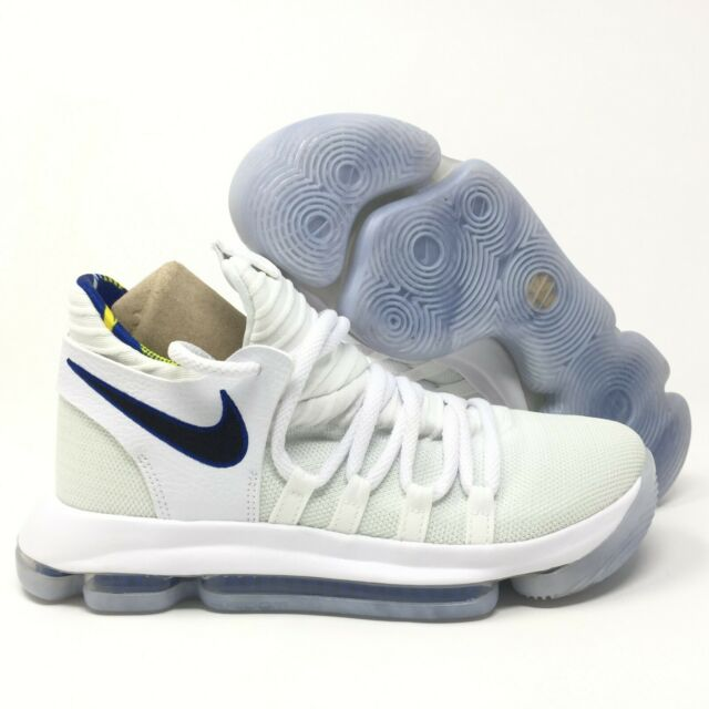 the best attitude aa164 97e15 Nike Zoom KD10 Limited NBA (GS) White Game Royal Size 7Y AJ7781-101 Youth