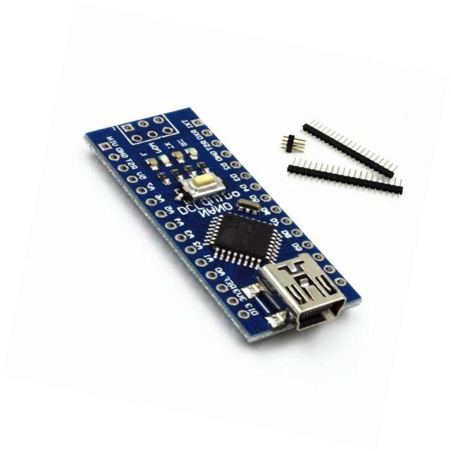 1PCS mini USB Nano V3.0 ATmega328P CH340G 5V 16M micro-controller Arduino