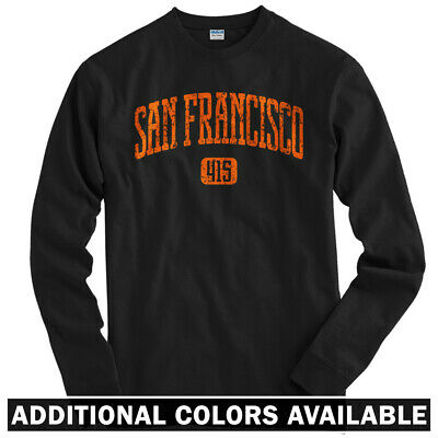 Men S-3XL San Francisco 415 Sweatshirt Crewneck 49ers Giants California CA