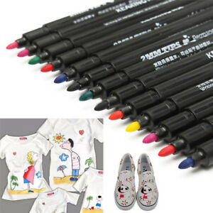 8Colors-Permanent-Fabric-Paint-Marker-T-Shirt-Pen-For-Shoes-Clothes-DIY-Graffiti