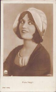 Pola-Negri-Ross-Star-Postcard-Ak-D-221