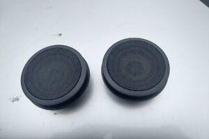 Bmw-E46-Black-Mid-Range-Door-Panel-Speaker-Pair-99-05-323i-325i-325xi-330i-330xi