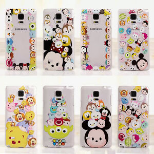 separation shoes 3150f d893e Details about Cute Cartoon Clear Soft Phone Case Cover for Samsung Galaxy  Note3 Note4 Note5