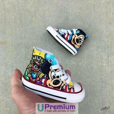 CONVERSE ALL STAR Mickey Mouse Topolino Disney 1 [Prodotto