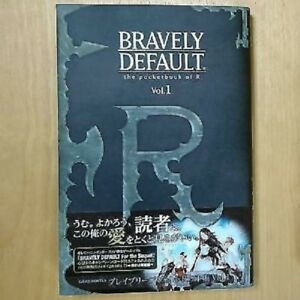 Bravely-default-R-039-s-notebook-Vol-1-used