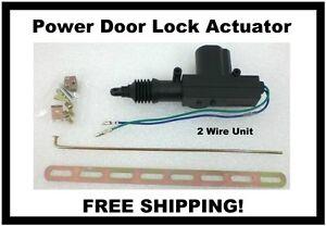 Black widow automotive door lock actuator 12 volt dc for 12vdc door lock actuator