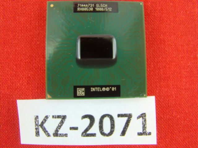 Intel Mobile Pentium III-M 1 GHz socket 479 FSB133 SL5CH Laptop CPU #KZ-2071