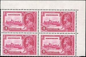 Mint-Canada-Newfoundland-1935-VF-Scott-226-Silver-Jubilee-Stamps-Never-Hinged