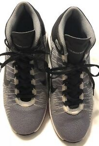 002 Zoom de Youth cordones Grey Euc baloncesto Ascention 7 Nike Zapatillas 83419 Sz con Xd70Xq