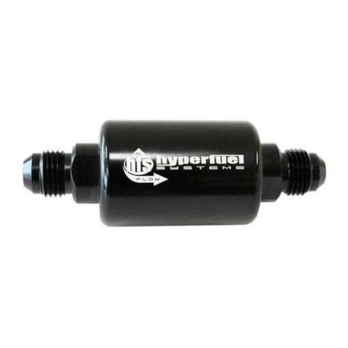 FiTech Fuel Filter 80113; 30 Microns Black Anodized Aluminum for Gasoline