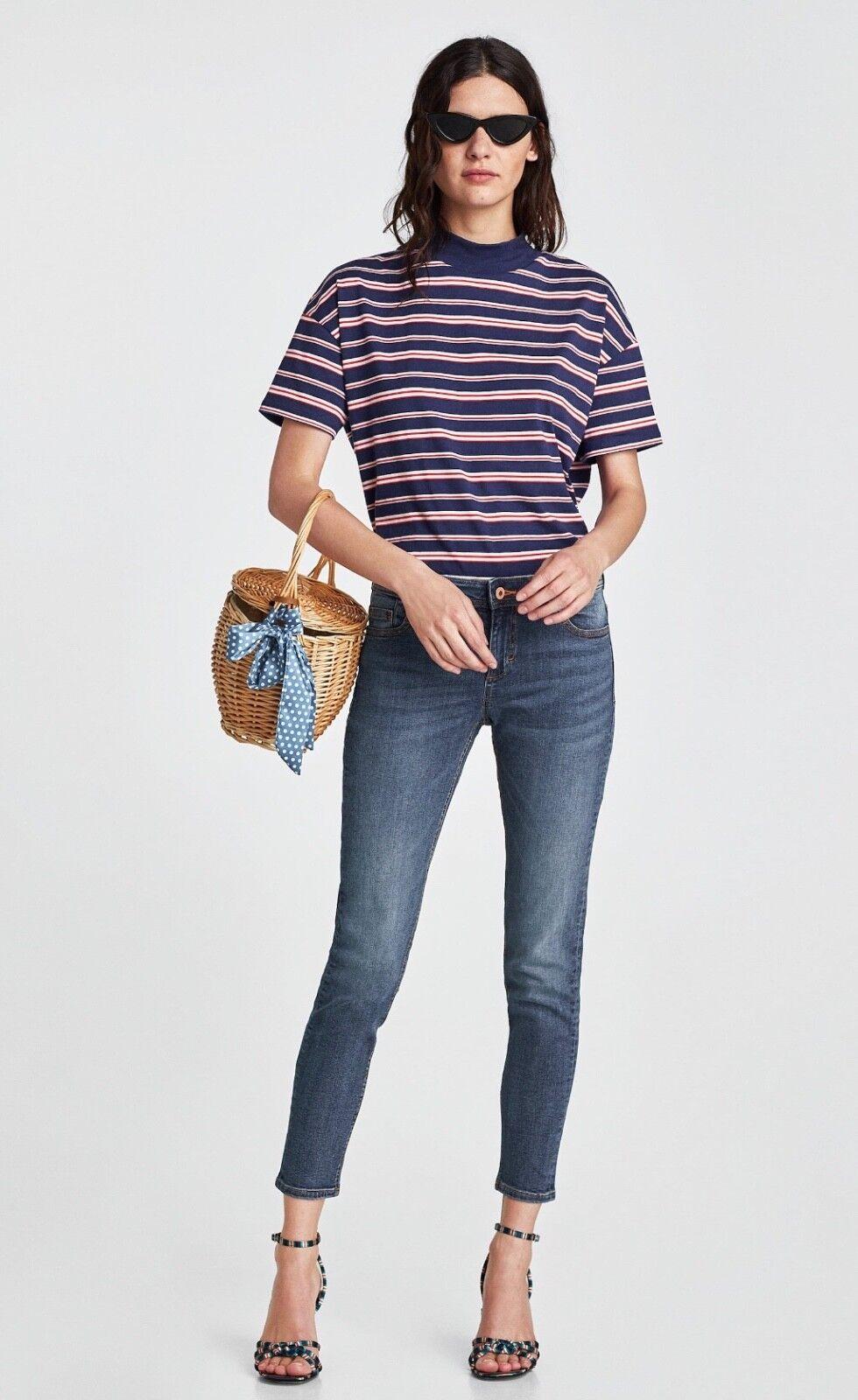ZARA new denim basic jeans size 10