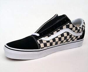 Vans Old Skool Checkerboard Espresso