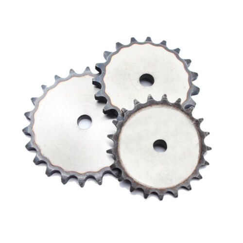 Pitch 12.7mm 08B Chain Drive Flat Sprocket 10-45 Tooth Roller Chain Chain Links