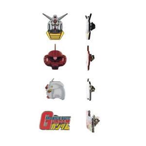 Gundam 4 Pack Lapel Pin Set