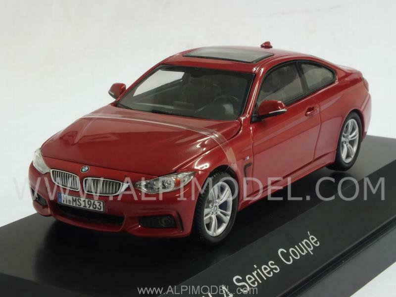 BMW Serie 4 Coupe Melbourne Red BMW Promo 1 43 PARAGON 80422318860