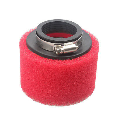 48mm Racing Foam Air Filter Clear for Yamaha Honda Suzuki ATV Scooter Moped