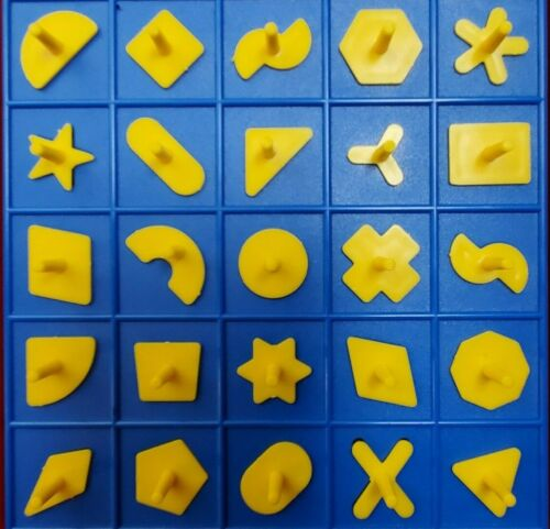 Perfection Game Replacement Pieces Shapes Full Set 25