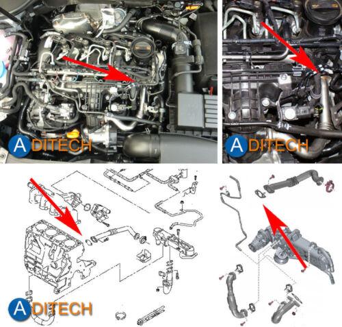 091A EGR Blanking Plate for AUDI VW SEAT SKODA 1.2 1.6 2.0 TDI CR 2