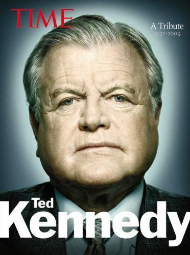 KENNEDY TIME~A TRIBUTE 1932-2009 TED KENNEDY HARDCOVER ILLUSTRATED EASY READ