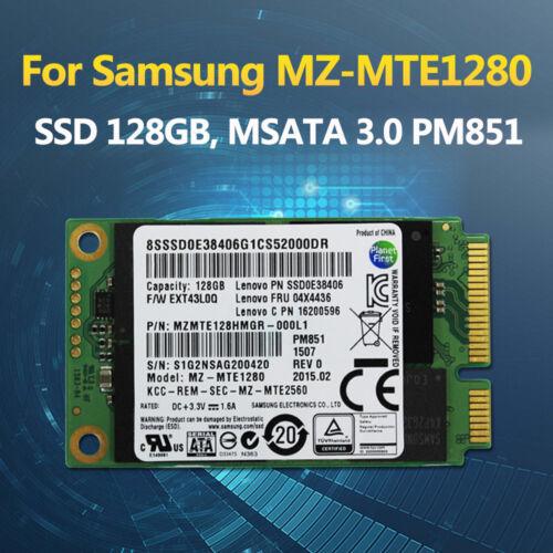 04X4436 128GB SSD mSATA SSD MZ-MTE1280 MZMTE128HMGR-000L1  PM851