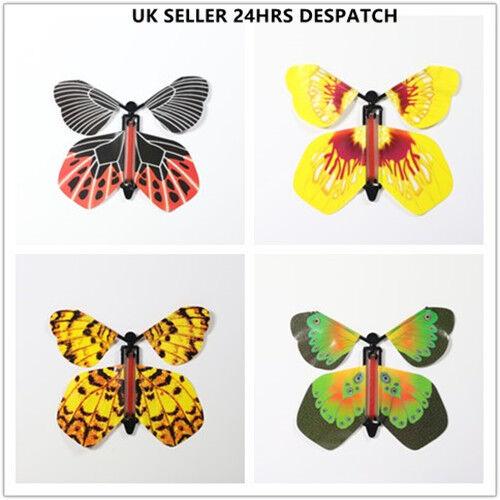 1-50 un. magia volar Mariposa Revoloteando Mariposa Regalo de Cumpleaños Boda Tarjeta