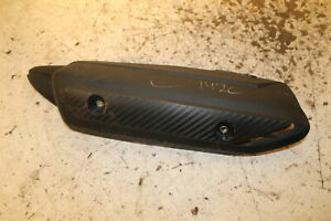 2013-13-YAMAHA-YZFR1-YZF-R1-LEFT-REAR-EXHAUST-HEAT-SHIELD-GUARD-PROTECTOR-COVER