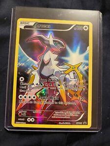 LP/NM FULL ART Pokemon ARCEUS Card BLACK STAR PROMO Set