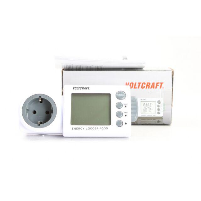 C56 Voltcraft Energiekosten-messgerät Energy-logger 4000 ...