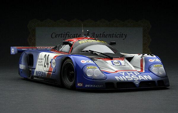 Rennfahren Verwittert Exoto 1989 Yhp Nismo Nissan R89c Le Mans 1 18    | Realistisch