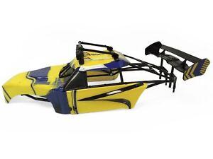 1-5-FT-Rovan-Internal-Roll-Cage-Body-Panels-Light-Bar-Fits-HPI-Baja-5T-5SC