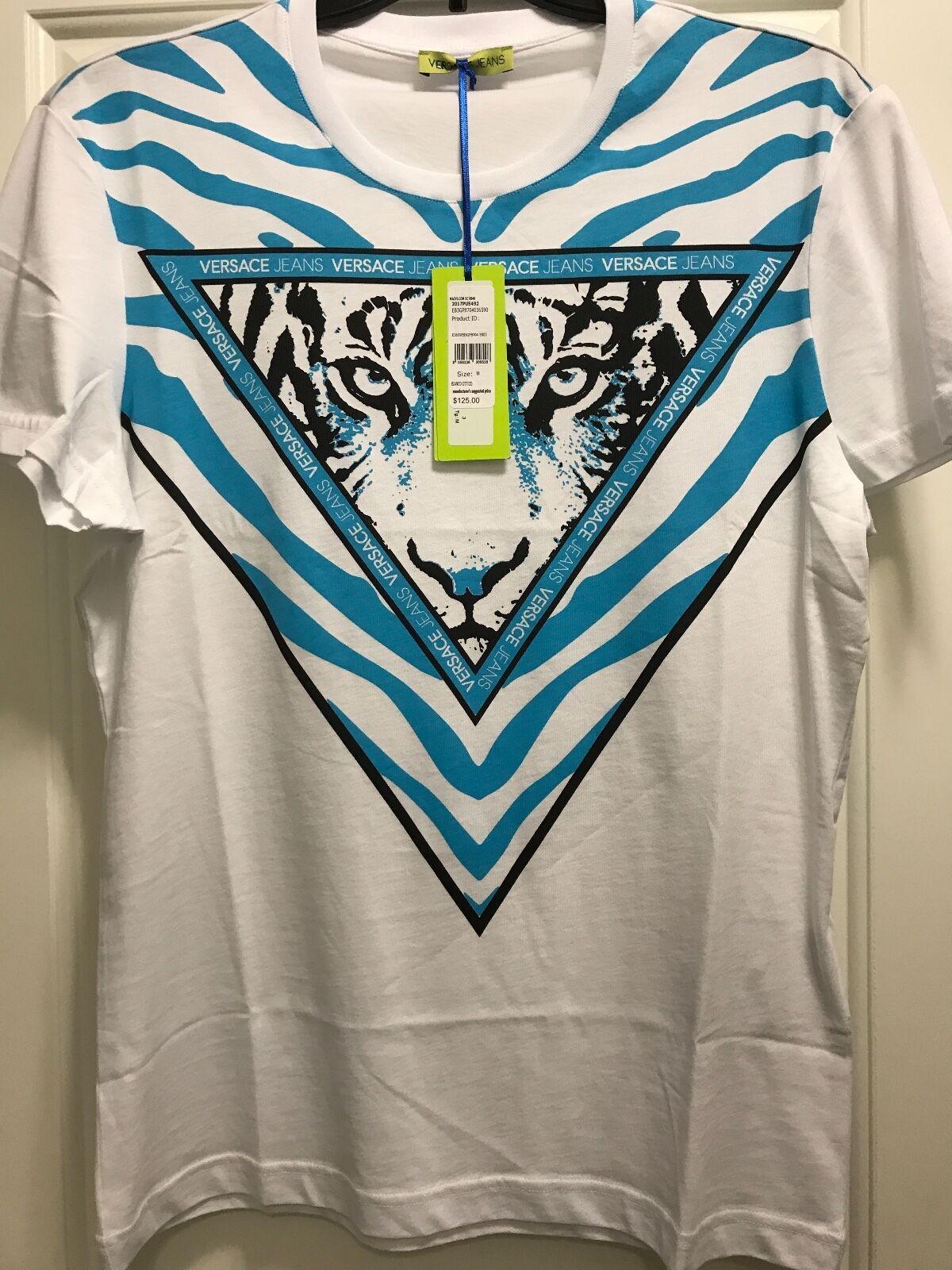 Authentic versace jeans t-shirt,Größe Large,96% cotton