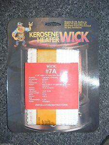 Kerosene Heater Replacement Wick 6 1 8 Quot X 4 Quot Aladdin Fujika Dixie Amp More 7a Ebay